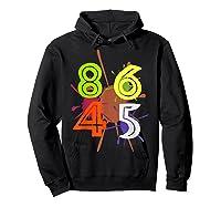 8645 Impeach Trump Anti Trump 8645 T Shirts Hoodie Black