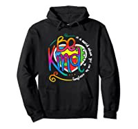 In A World Where You Can Be Anything Be Kind Autism Premium T-shirt Hoodie Black