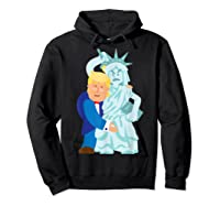 Grab Liberty Naughty Anti Trump Impeach Trump F Trump Gift T Shirt Hoodie Black