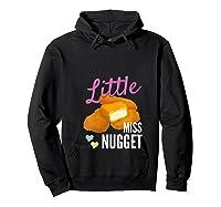Little Miss Nugget Chicken Nuggs Artwork Shirts Hoodie Black