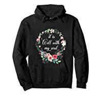 Inspirational It Is Well With My Soul T Shirts Faith Tees Tank Top Hoodie Black