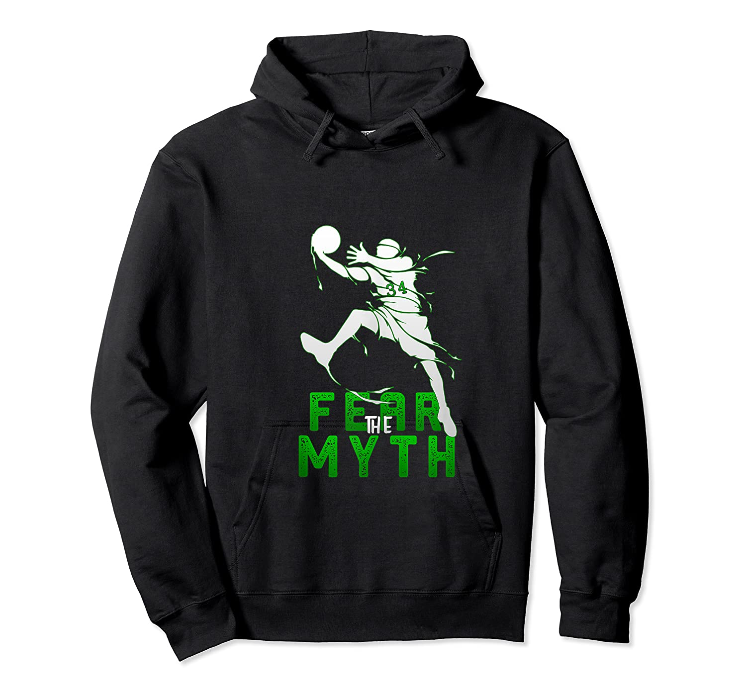 Gift For Milwaukee Basketball Bucks Fans 34 R The Myth Shirts Unisex Pullover Hoodie