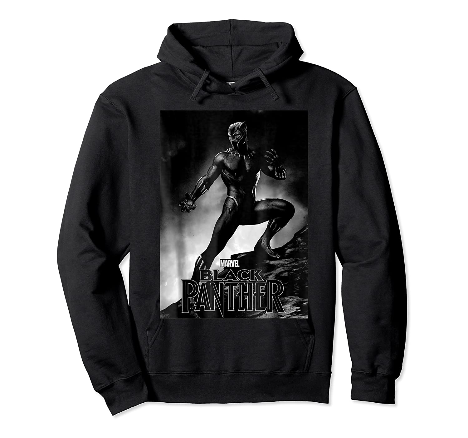 Black Panther Movie Shadow Cliff Stance Shirts Unisex Pullover Hoodie