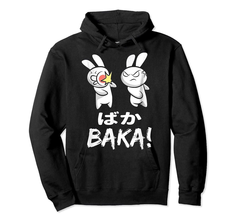 Anime Japanese Baka Rabbit Slap Manga T Shirt Gift Funny T Shirt Unisex Pullover Hoodie