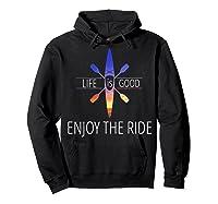 Kayak Fishing Accessories T Shirt Hoodie Black