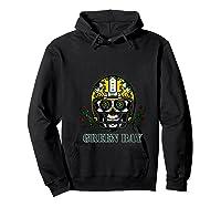 Green Bay Football Helmet Sugar Skull Day Of The Dead T Shirt Hoodie Black