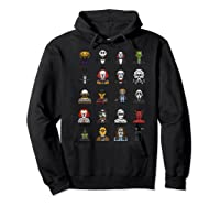 Friends Cartoon Halloween Character Scary Horror Movies Premium T Shirt Hoodie Black
