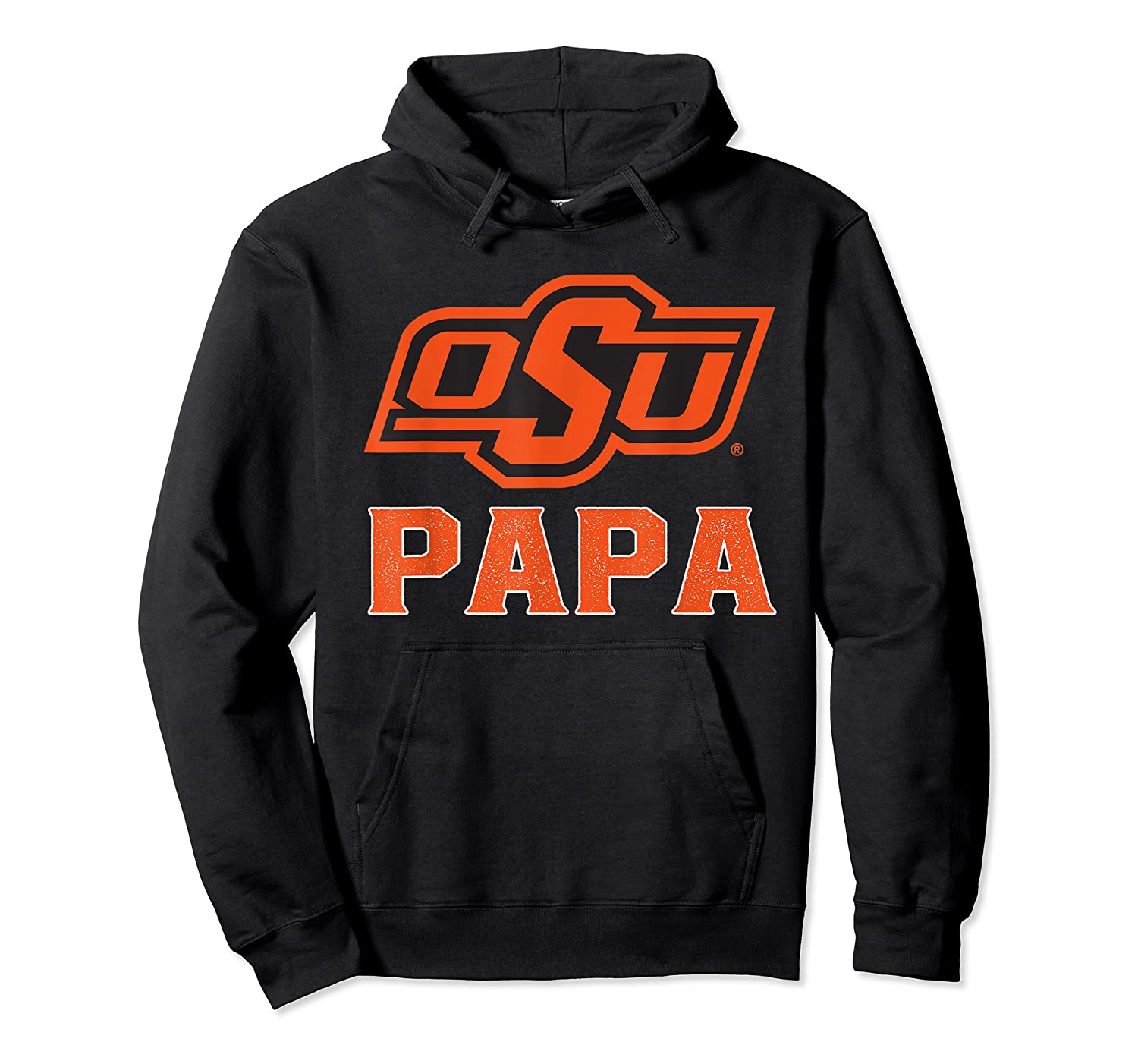 Oklahoma State Cow My Favorite Name - Papa T-shirt Unisex Pullover Hoodie