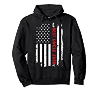 Best Uncle Ever T Shirt American Flag Fathers Day Gift  Hoodie Black