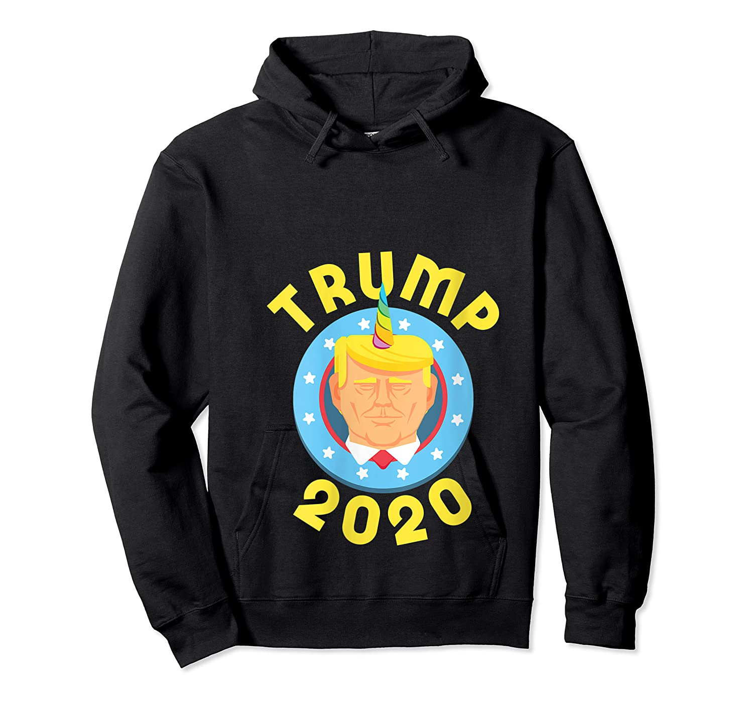 Funny Unicrontrump 2020 Election Usa Flag Republican Gift T Shirt Unisex Pullover Hoodie