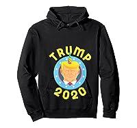 Funny Unicrontrump 2020 Election Usa Flag Republican Gift T Shirt Hoodie Black