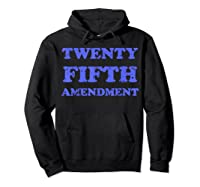 Vintage Twenty Fifth Adt Impeach Trump T Shirt Hoodie Black