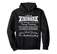 I M A Writer Gift For Authors Novelists Literature Shirt Hoodie Black