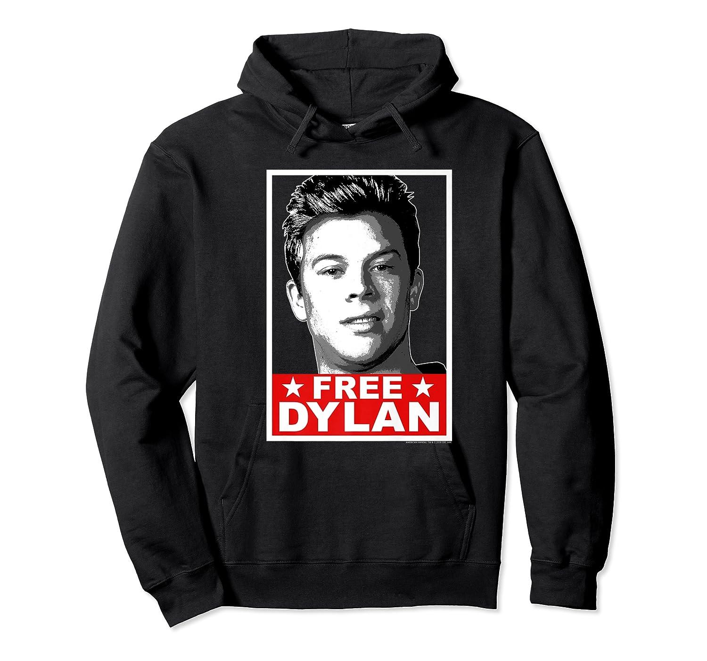 American Vandal Free Dylan Political Poster Premium T-shirt Unisex Pullover Hoodie