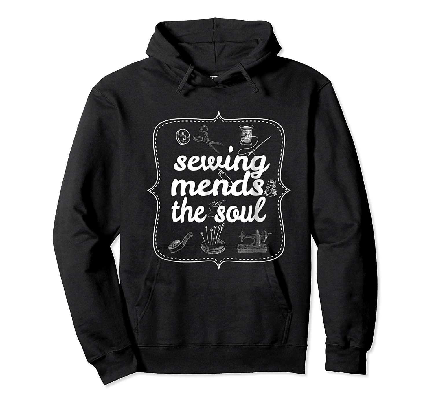 Sewing Ds The Soul Sewing Quilting T Shirt For  Unisex Pullover Hoodie