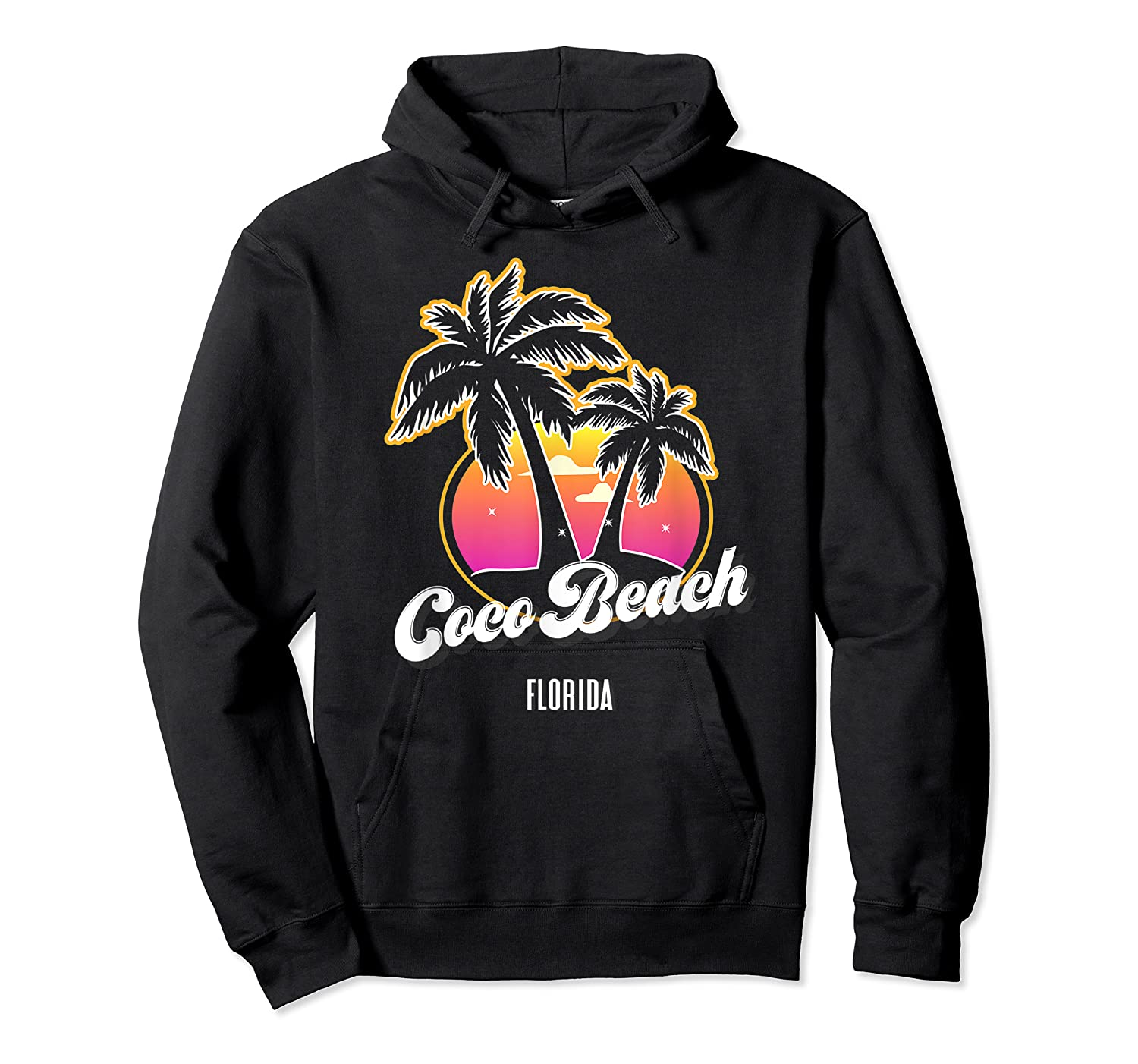 Coco Beach Florida City Native S Gift Shirts Unisex Pullover Hoodie