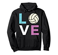 And A Volleyball Shirts Hoodie Black