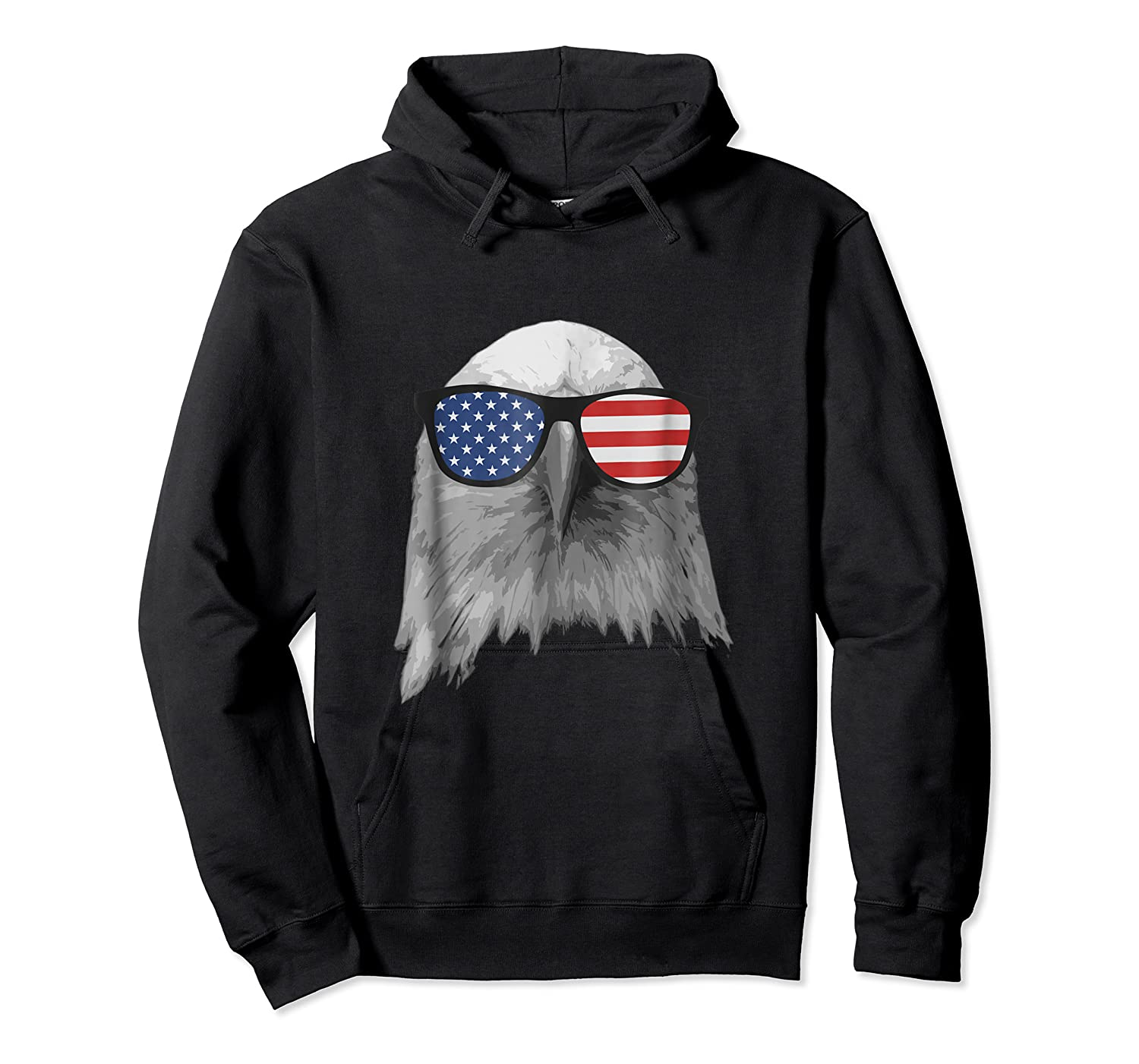 Election Day 2018 Patriotic Eagle T Shirt Unisex Pullover Hoodie