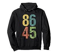 8645 T Shirt Impeach Trump Hoodie Black