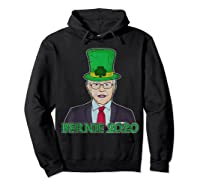 Bernie Sanders 2020 T Shirt St Patricks Day Irish Leprechaun Hoodie Black