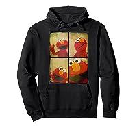 Sesame Street Photo Booth Elmo Shirts Hoodie Black