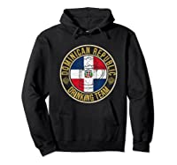 Funny Beer Dominican Republic Drinking Team Casual T-shirt Hoodie Black