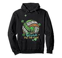 Irish Volleyball Dig The Gold T Shirt Saint Patricks Day Tee Hoodie Black