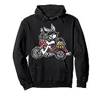 Easter Bunny Motorcycle Tshirt Biker Gifts Braap T-shirt Hoodie Black
