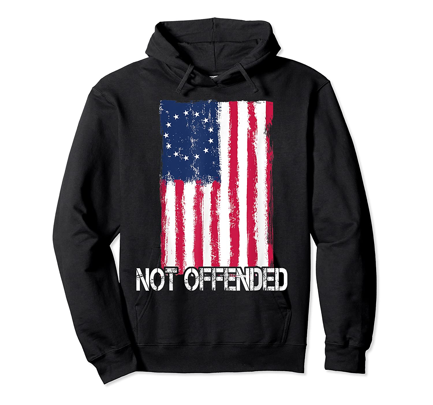 Betsy Ross American Flag Tshirt With 13 Stars For Protesters Unisex Pullover Hoodie