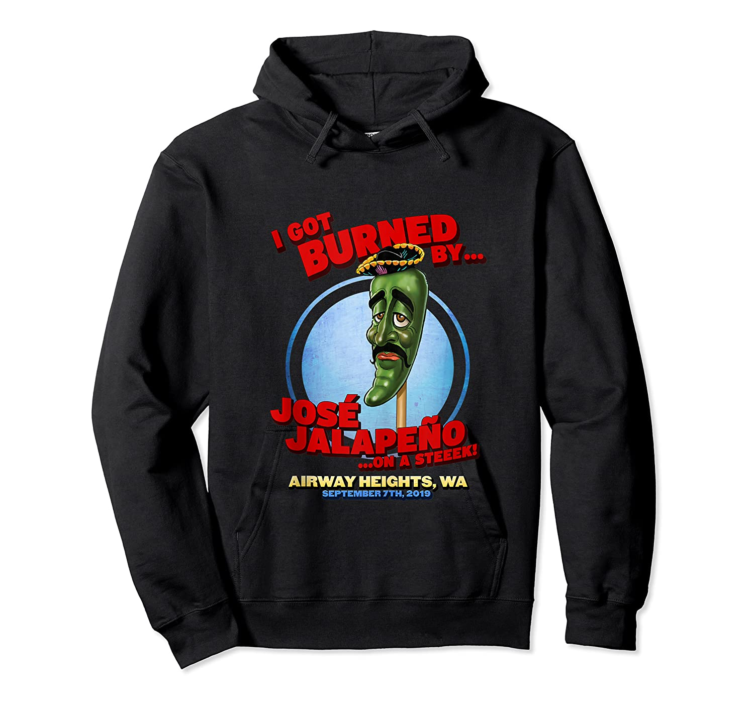 Jose Jalapeno On A Stick Airway Heights Wa Tank Top Shirts Unisex Pullover Hoodie