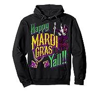 Happy Mardi Gras Yall Dabbing Voodoo King Costume Gift Shirts Hoodie Black