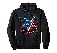 Honor The Fallen Thank The Living Veteran's Day Gift Tee Premium T-shirt Hoodie Black