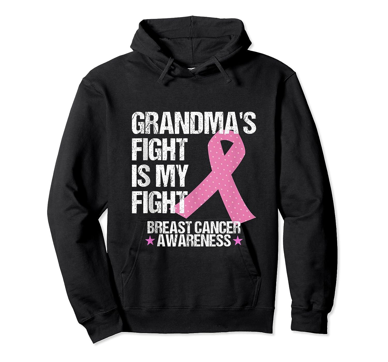 Breast Cancer Awareness Month Grandmas Fight Grandma Gift Tank Top Shirts Unisex Pullover Hoodie