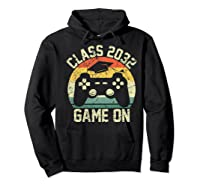 Kindergarten 2019 Class Of 2032 Game On Gamer, Grow With Me Shirts Hoodie Black
