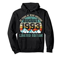 Born August 26 Limited Edition Bday Gift 26th Birthday Shirts Hoodie Black