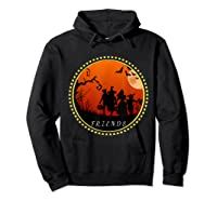 Friends Horror Scary Halloween T Shirt For  Hoodie Black