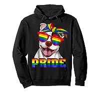 Pit Bull Pride- Gay Pride Shirt 2018 T-shirt For  Hoodie Black
