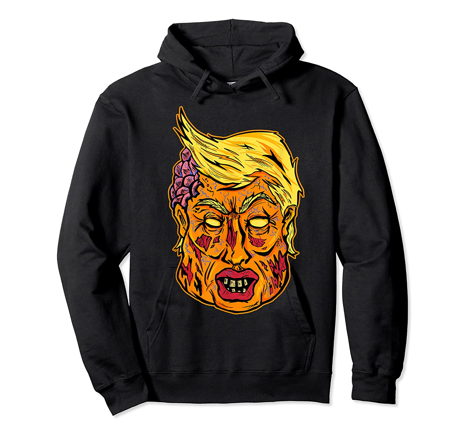 Cool And Creative Zombie Donald Trump T-shirt Unisex Pullover Hoodie