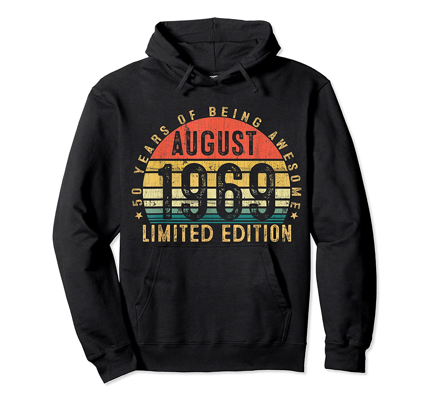 Vintage August 1969 Graphic For , Shirts Unisex Pullover Hoodie