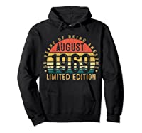 Vintage August 1969 Graphic For , Shirts Hoodie Black