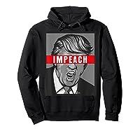 Impeach Trump Not My President Tshirts Hoodie Black