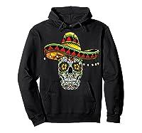 Day Of The Dead Sugar Skull Funny Cinco De Mayo T Shirt Hoodie Black