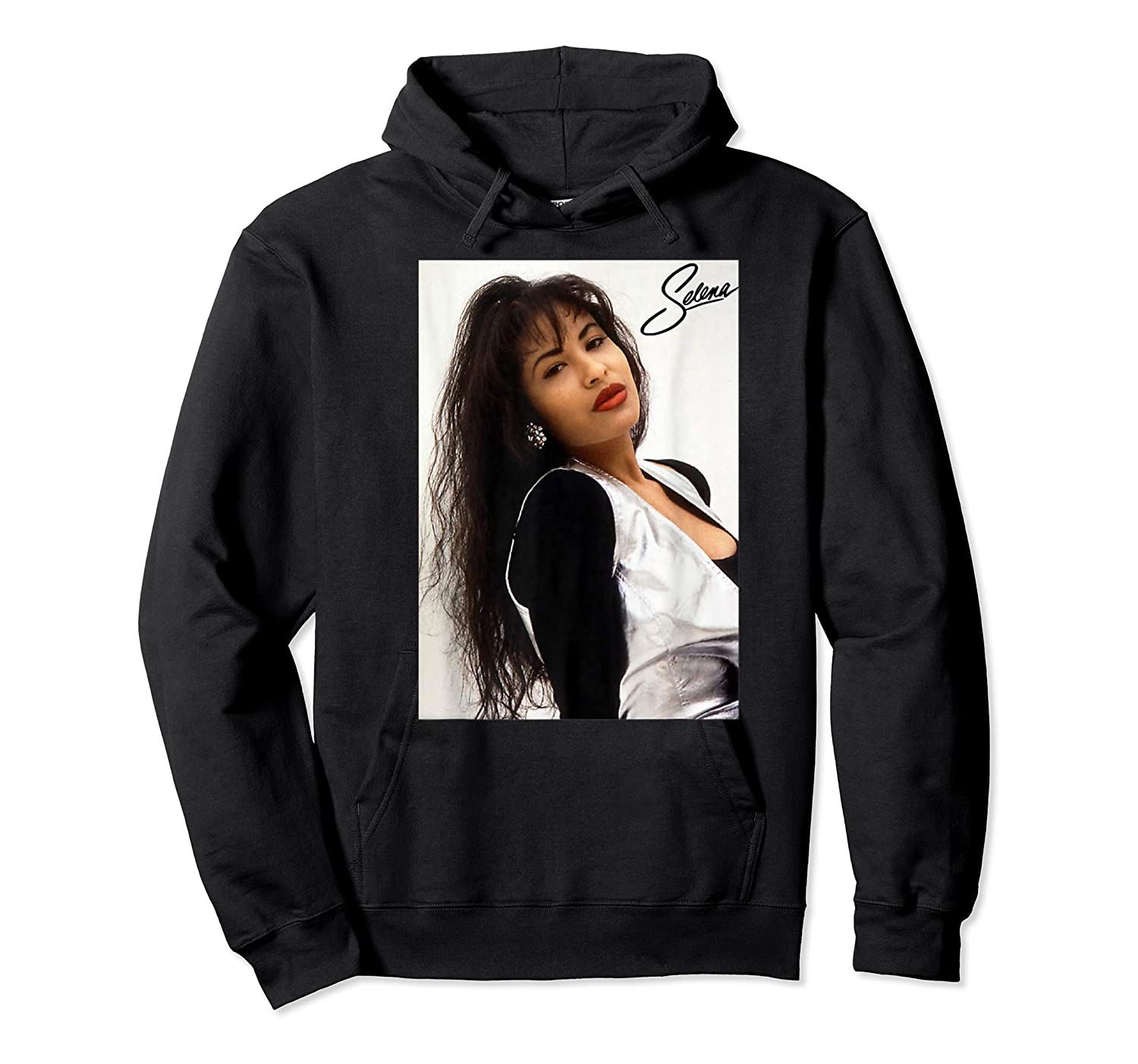 Selenas Vintage Distressed Classic Shirts Unisex Pullover Hoodie