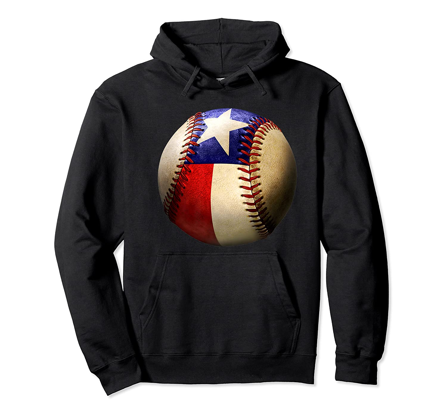 Texas Flag Baseball Game Apparel Gift Great State Of Texas Premium T-shirt Unisex Pullover Hoodie