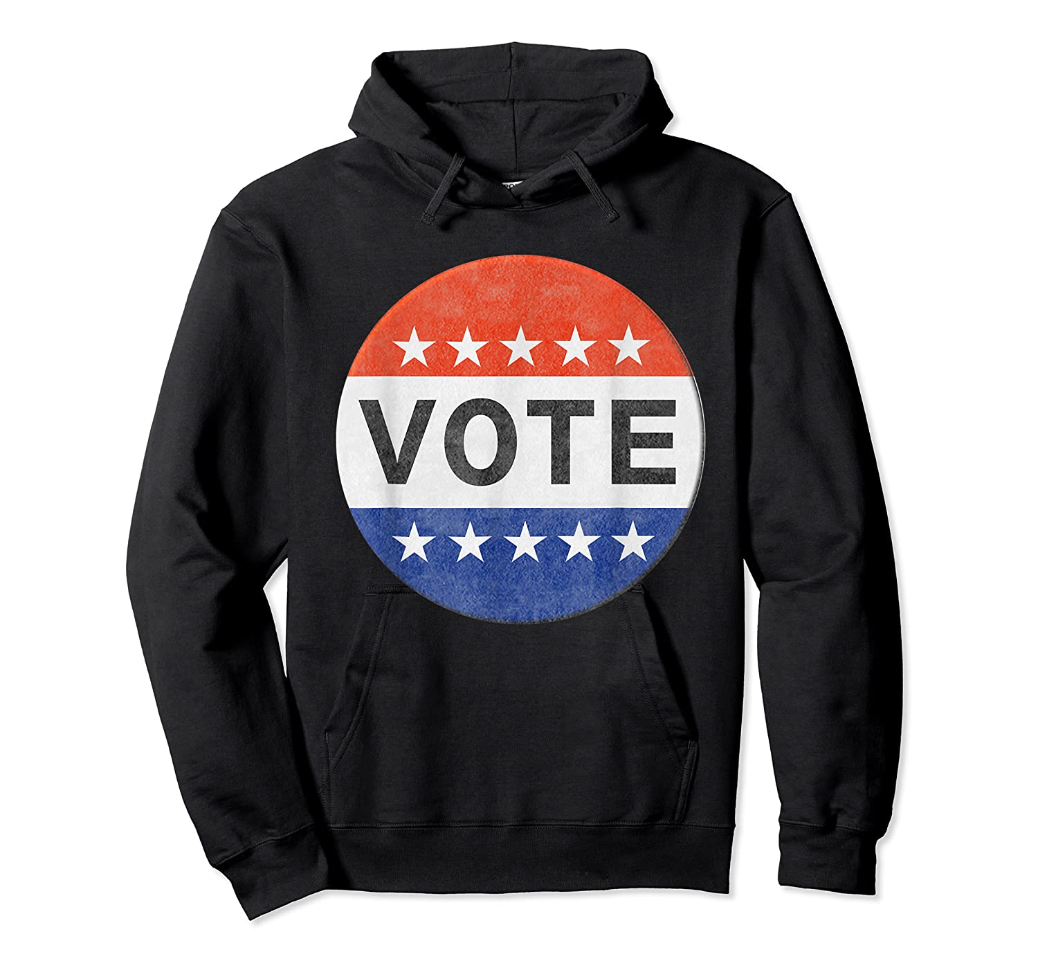 Vote Distressed Design Political Us Election 2020 T Shirt Unisex Pullover Hoodie