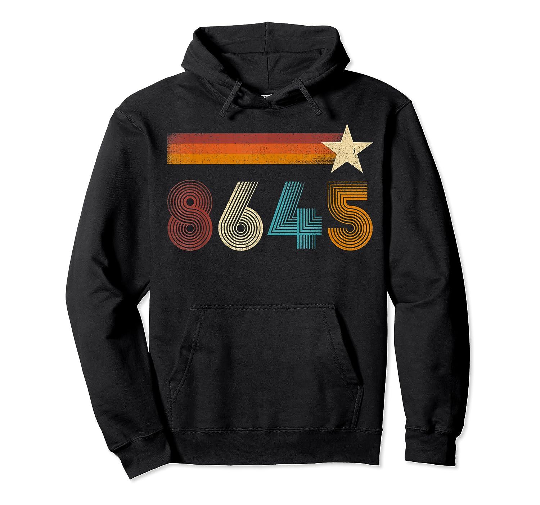 Vintage 86 45 Impeach Trump Anti Trump T Shirt Unisex Pullover Hoodie