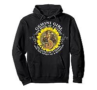 Gemini Girl The Soul Of A Mermaid Tshirt Birthday Gifts Hoodie Black