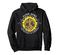 June Girl The Soul Of A Mermaid Tshirt Birthday Gifts Hoodie Black