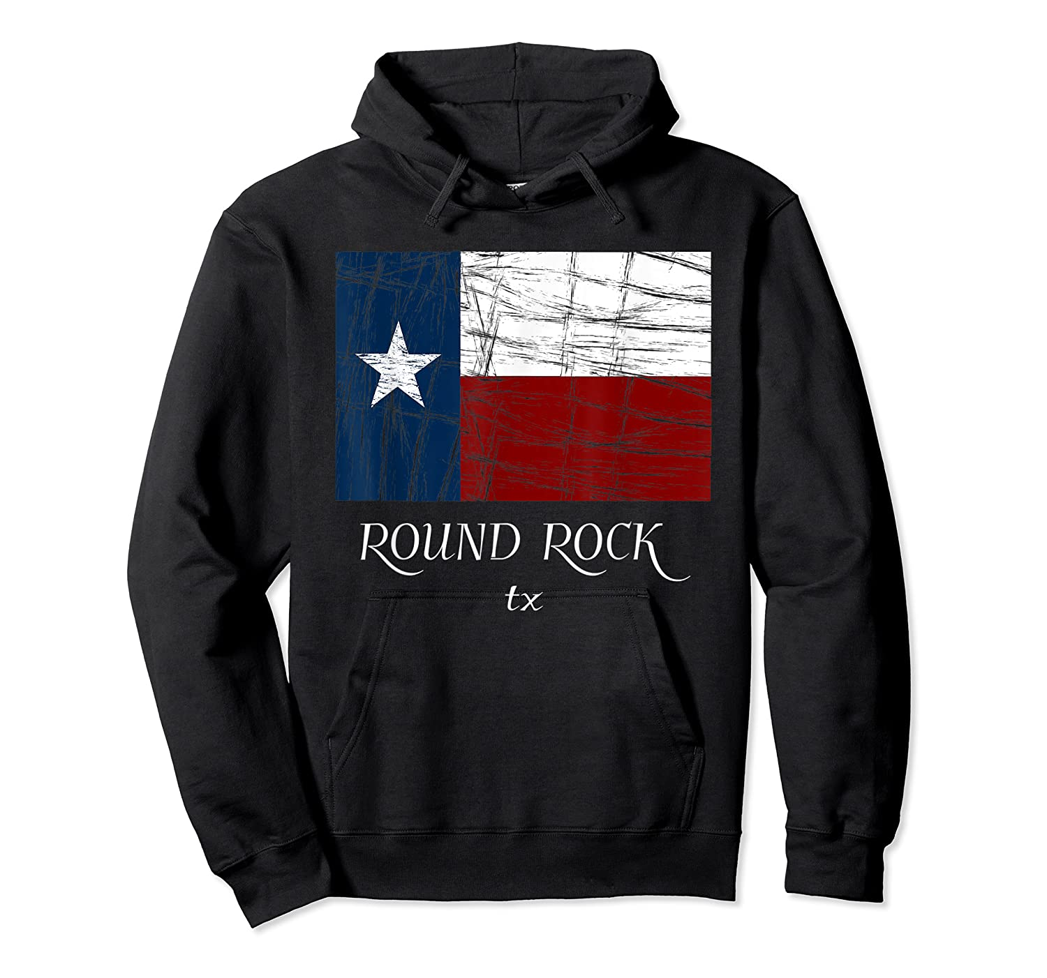 Texas Flag City State Shirts Unisex Pullover Hoodie