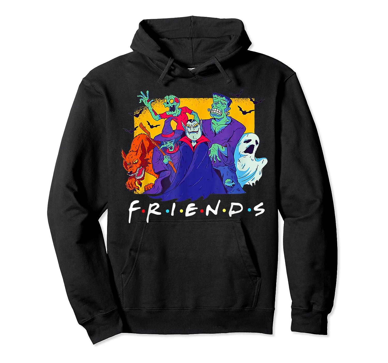 Friends Halloween Horror T Shirt Unisex Pullover Hoodie